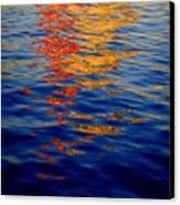 Reflections On Kobe Canvas Print by Roberto Alamino
