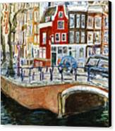 Reguliersgracht Canvas Print