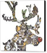 Reindeer Games Canvas Print by Tyler Auman