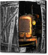 Relic From Past Times Canvas Print by Heiko Koehrer-Wagner
