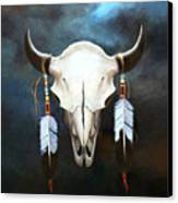 Relic Of The Plains Canvas Print