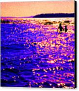 Reluctant Swimmer 2 Canvas Print