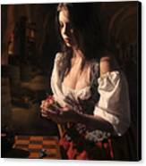 Rembrants Daughter Canvas Print by Tony Slez