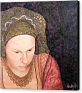 Renaissance Girl Canvas Print