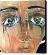 Renatta Canvas Print by Andrea Vazquez-Davidson