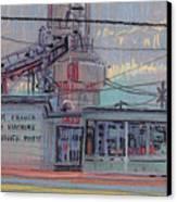 Repair Shop Canvas Print by Donald Maier