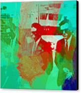 Reservoir Dogs Canvas Print by Naxart Studio
