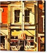Restaurant II Canvas Print