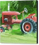 Retired Farmall Canvas Print