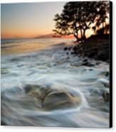 Return To The Sea Canvas Print by Mike  Dawson