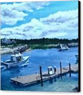 Returning To Sesuit Harbor Canvas Print