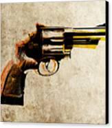 Revolver Canvas Print by Michael Tompsett