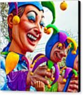 Rex Mardi Gras Parade Xi Canvas Print by Steve Harrington