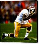 Rg3 - Tebowing Canvas Print by Paul Ward