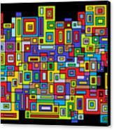 Rhythm 102 Canvas Print by Cynthia Friedlob