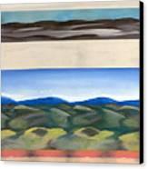 Rhythm In Landscape Canvas Print