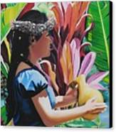Rhythm Of The Hula Canvas Print