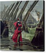 Richelieu Canvas Print by Henri-Paul Motte