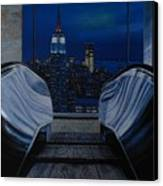 Right To The Top Canvas Print