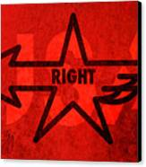 Right Wing Canvas Print