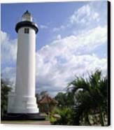 Rincon Puerto Rico Lighthouse Canvas Print by Adam Johnson