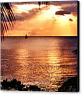 Rincon Sunset Canvas Print by Michael  Cryer