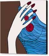 Ring Finger Canvas Print by Frank Tschakert
