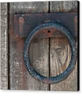 Ring Knock Canvas Print by Dan Holm