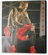 Ringside With Jermain Canvas Print