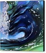 Rip Curl - Dynamic Ocean Wave  Canvas Print by Prashant Shah