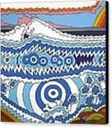 Rip Tide Canvas Print by Rojax Art