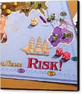 Risk - Cornered Again Canvas Print