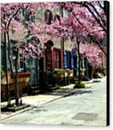 Rittenhouse Square Neighborhood Canvas Print by Andrew Dinh