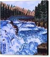 River Falls Canvas Print
