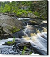 River Flow V Canvas Print