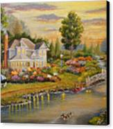 River Home Canvas Print