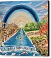 River Of Life Canvas Print
