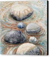 River Rock 2 Canvas Print