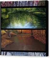 River Seasons Canvas Print by Susan Jenkins