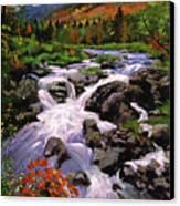 River Sounds Canvas Print