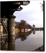 River Thames At Sandford. Canvas Print by Mike Lester