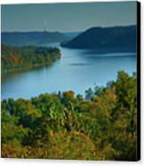 River View II Canvas Print by Steven Ainsworth