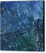 River Water Rains Canvas Print