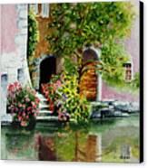 Riverfront Property Canvas Print