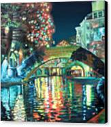 Riverwalk Canvas Print by Baron Dixon