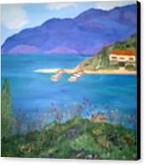 Riviera Remembered Canvas Print by Alanna Hug-McAnnally
