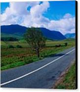 Road From Westport To Leenane, Co Mayo Canvas Print
