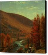 Road Through Belvedere Canvas Print