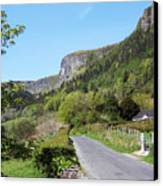 Road To Benbulben County Leitrim Ireland Canvas Print