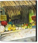 Roadside Fruit Stand Canvas Print